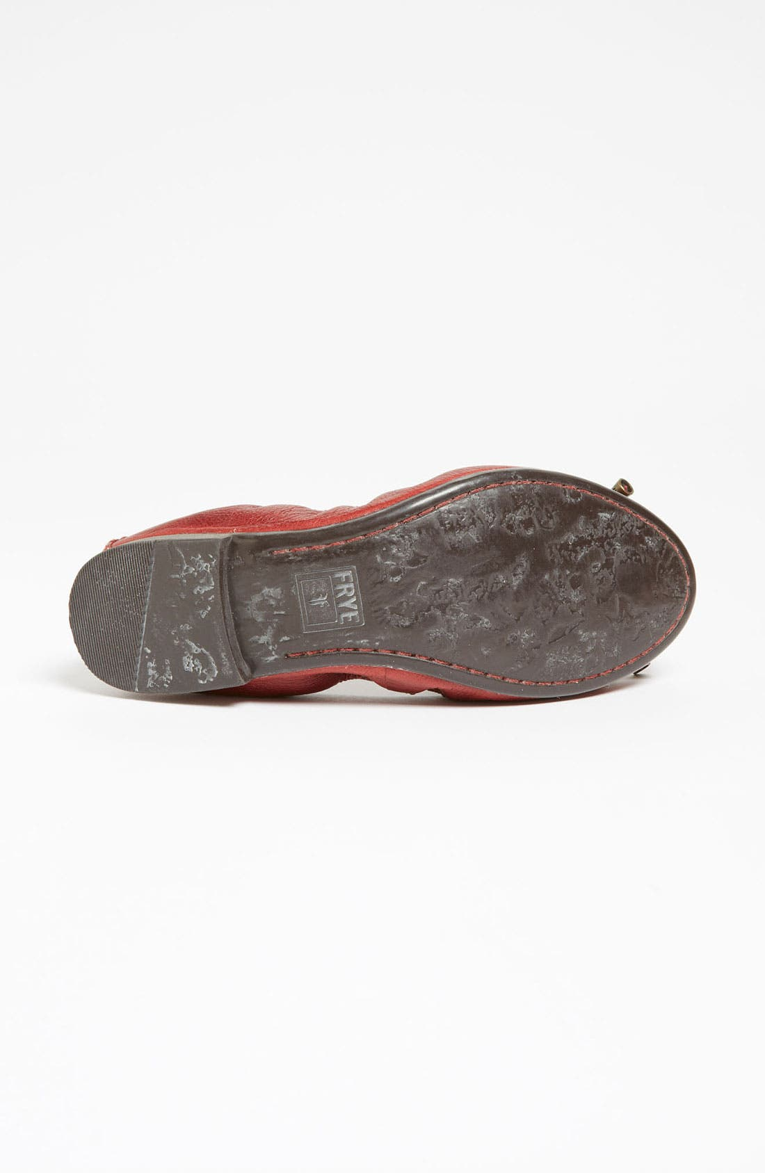 'Carson Collapsible' Flat,                             Alternate thumbnail 4, color,                             Burnt Red