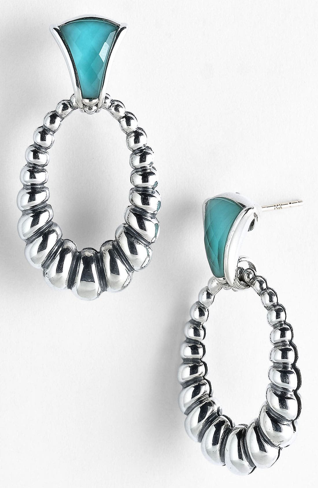 Main Image - LAGOS Frontal Hoop Earrings