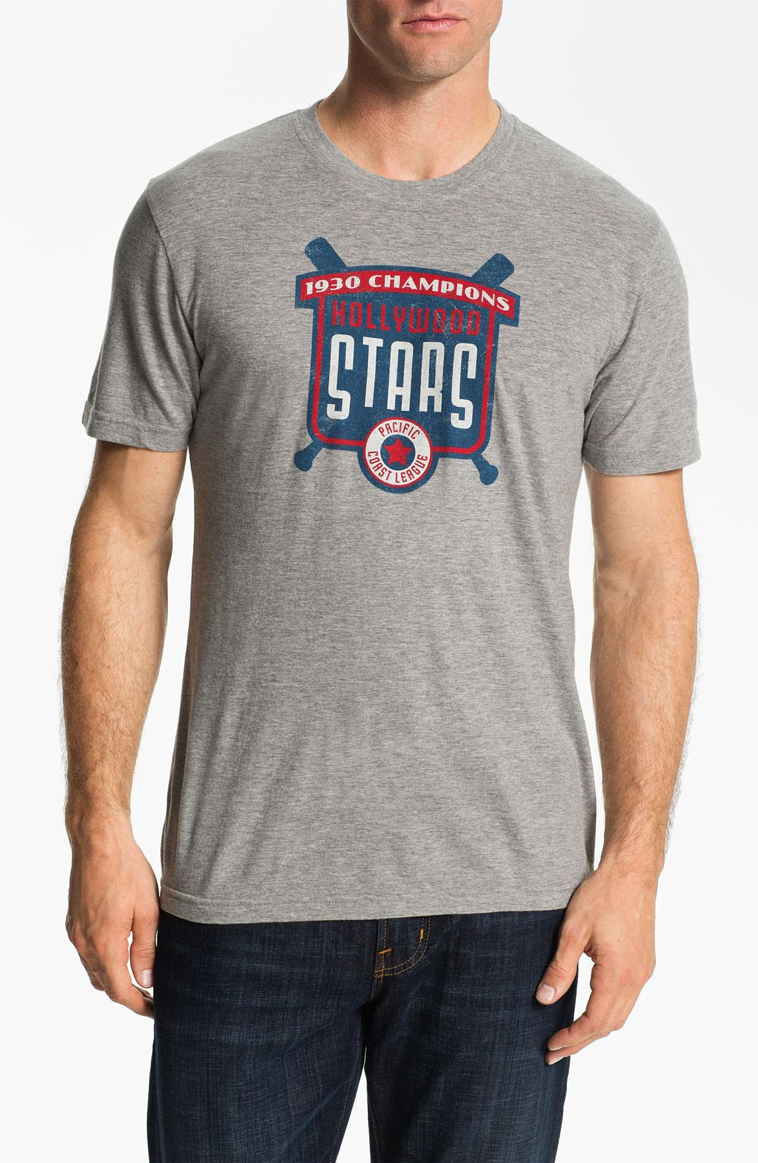 Alternate Image 1 Selected - Red Jacket 'Hollywood Stars - Brass Tack' T-Shirt