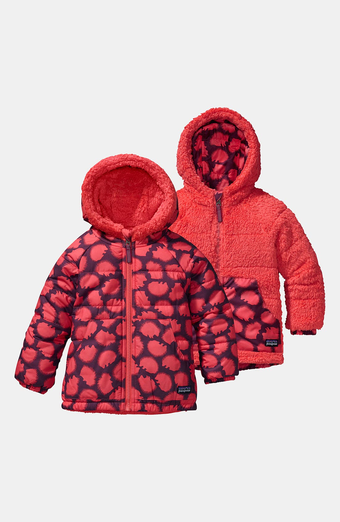 Alternate Image 1 Selected - Patagonia Reversible Jacket (Baby Girls)