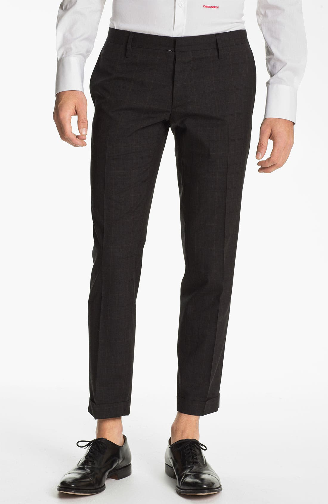 Alternate Image 4  - Dsquared2 Check Virgin Wool Suit