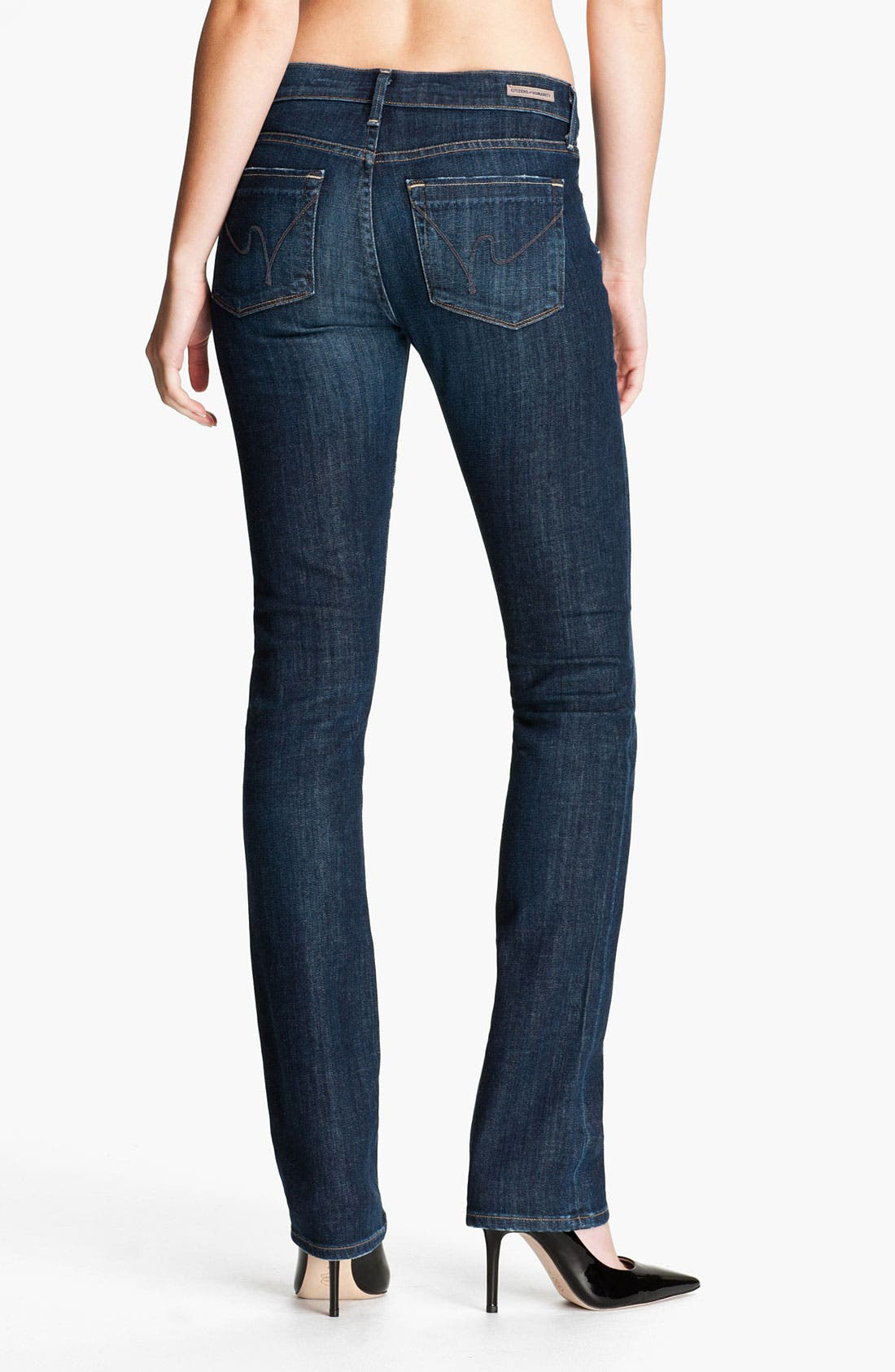 Alternate Image 2  - Citizens of Humanity 'Ava' Straight Leg Stretch Jeans (Galaxy)