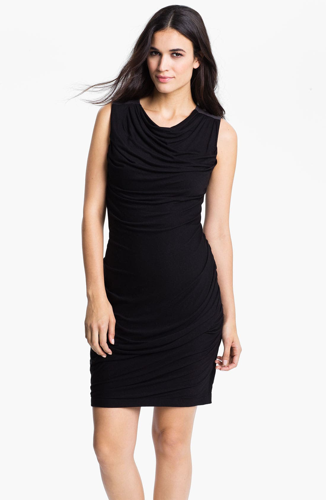 Alternate Image 1 Selected - DKNYC Draped Jersey Dress