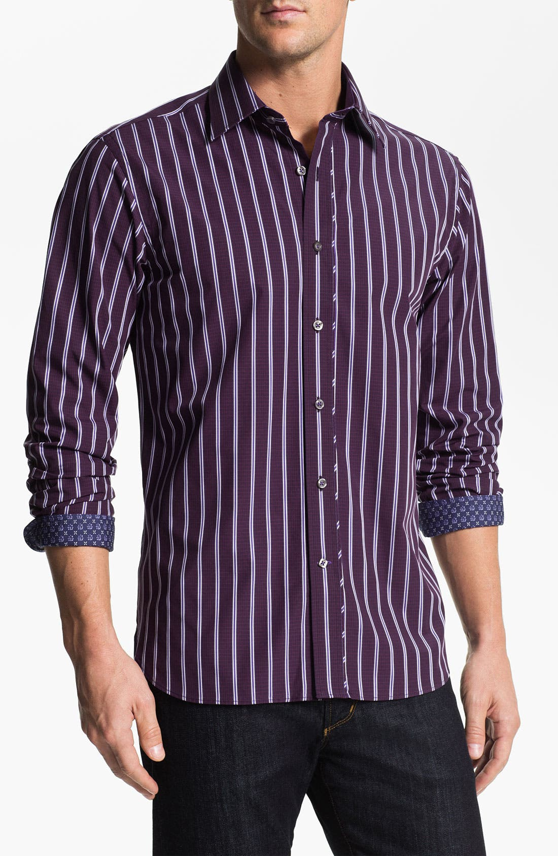 Alternate Image 1 Selected - Report Collection Cotton Sport Shirt (Online Exclusive)
