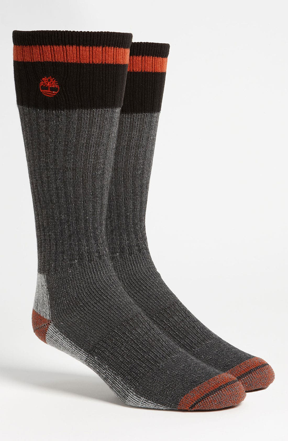 Alternate Image 1 Selected - Timberland Merino Wool Blend Boot Socks (2-Pack)