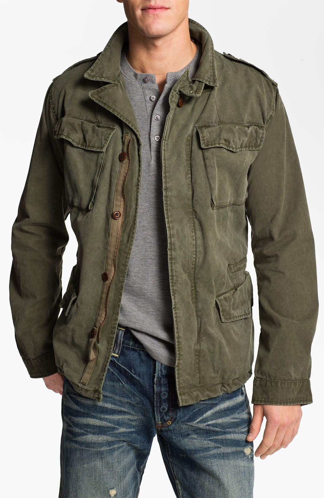 Alternate Image 1 Selected - Scotch & Soda Military Jacket