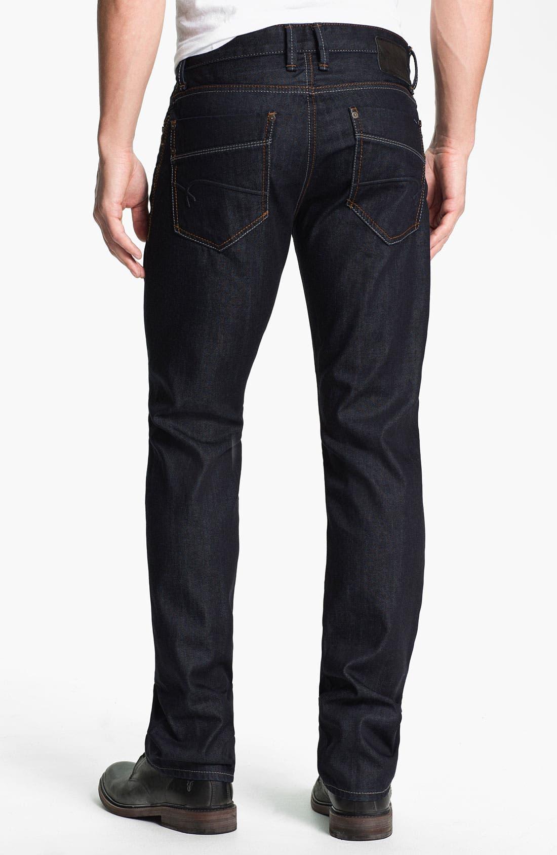 Main Image - Mavi Jeans 'Zach' Straight Leg Jeans (Rinse Jameson)