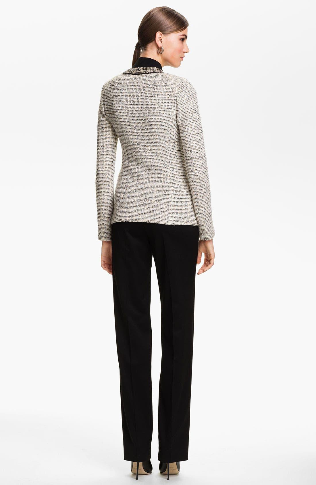 Alternate Image 3  - St. John Collection Venezia Tweed Knit Jacket