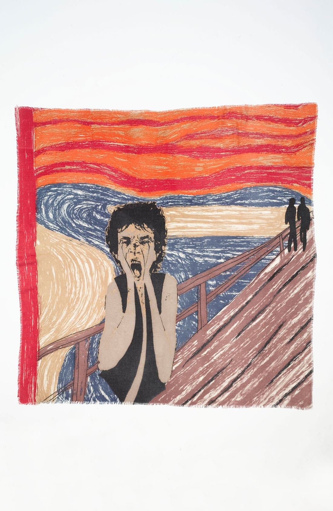 Alternate Image 2  - Yarnz 'The Scream' Cashmere & Wool Scarf