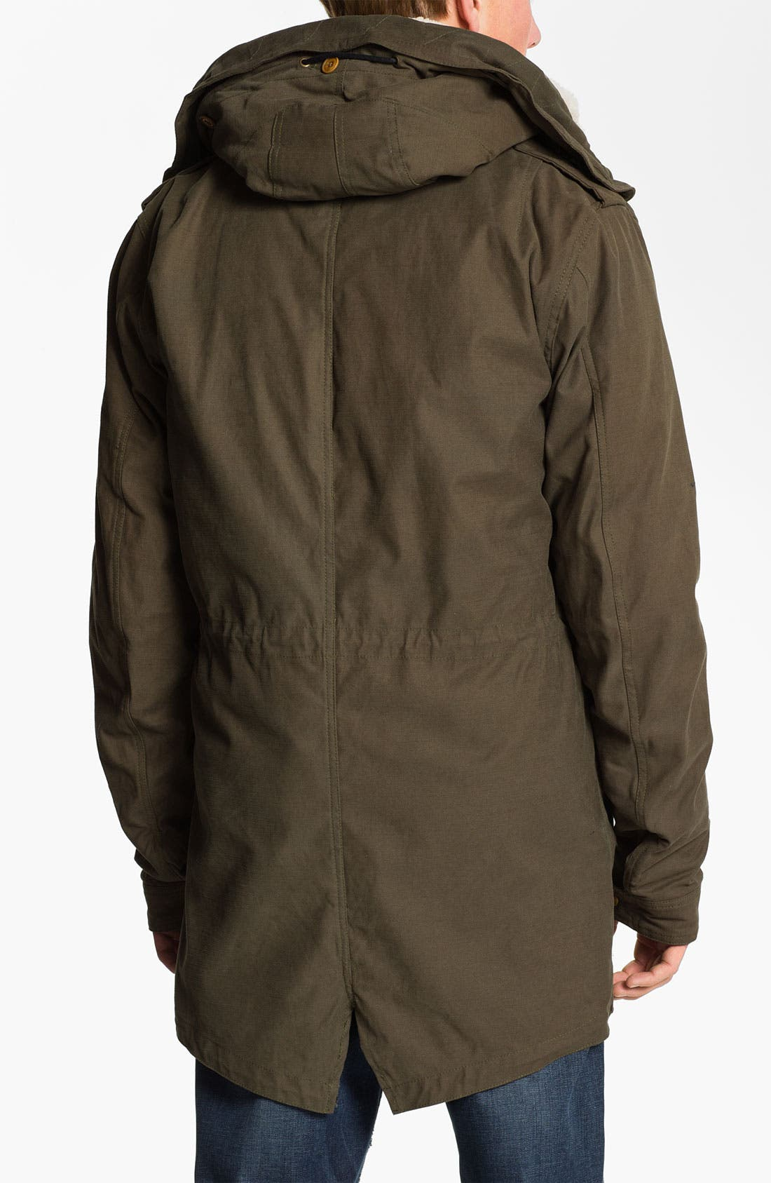 Alternate Image 2  - Scotch & Soda Canvas Parka