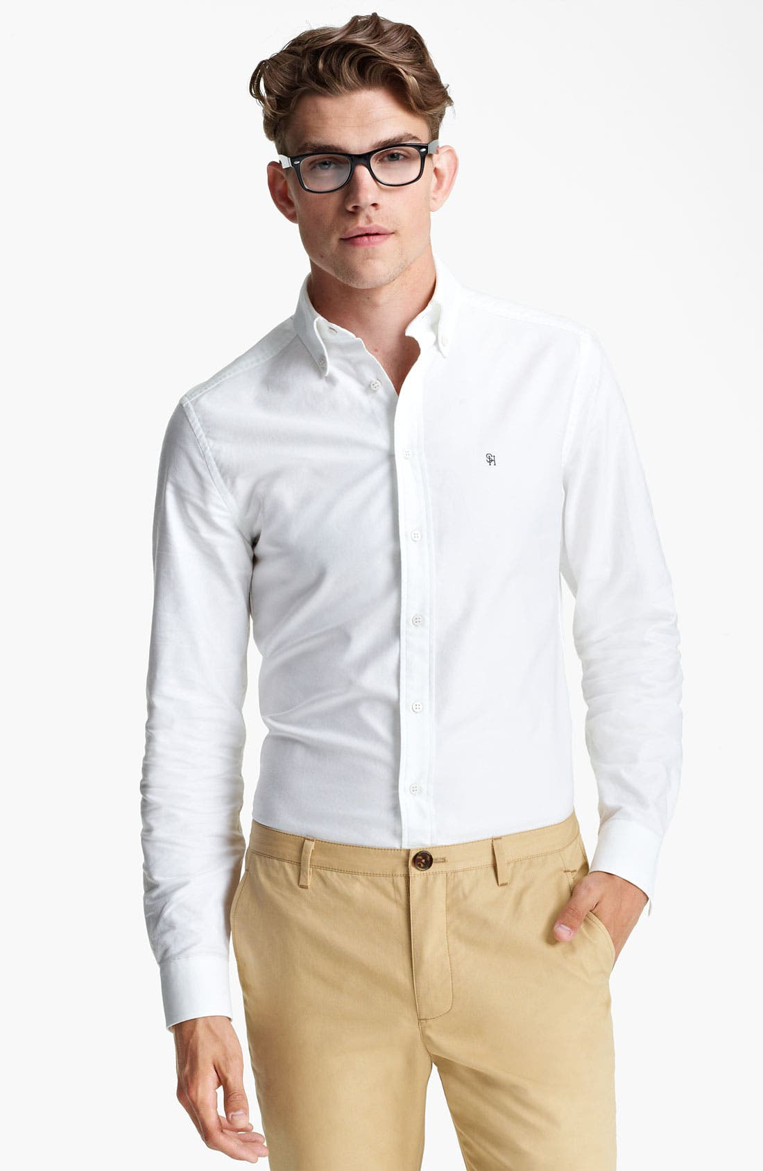 Alternate Image 1 Selected - Shipley & Halmos Dress Shirt