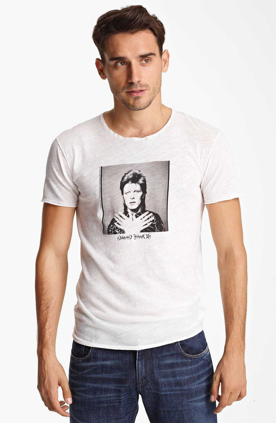Alternate Image 1 Selected - Dolce&Gabbana 'David Bowie' Print T-Shirt