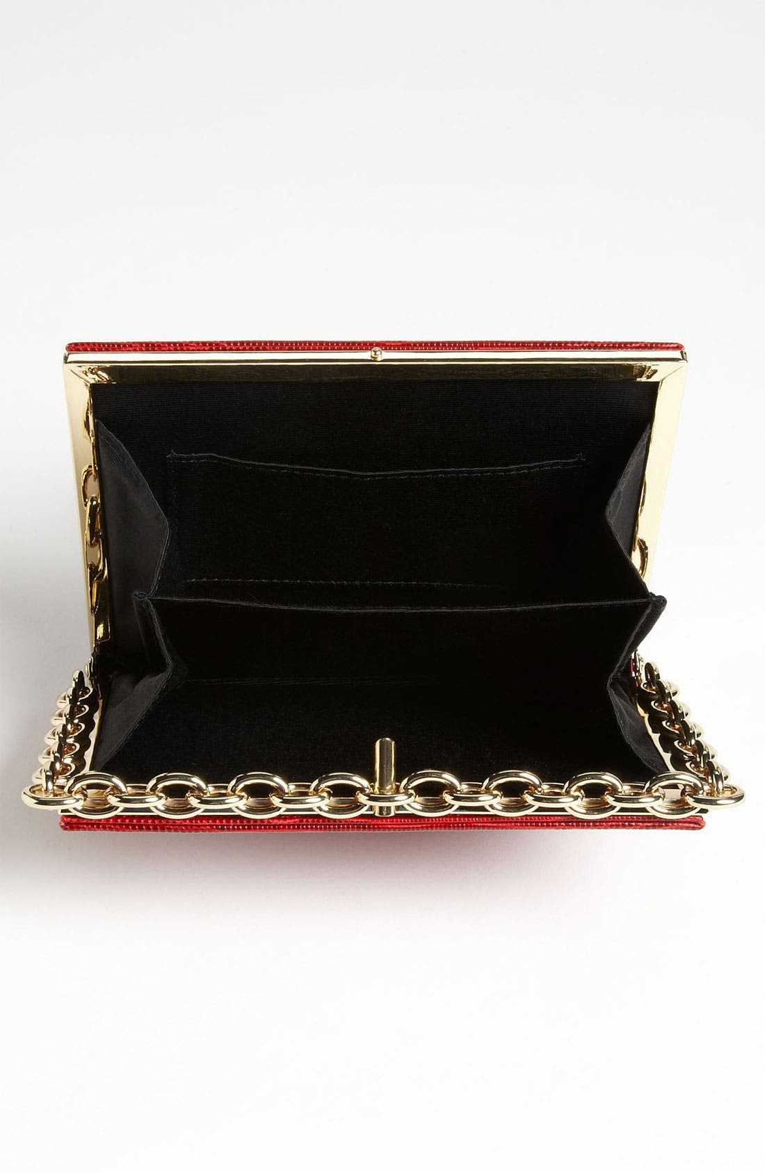 Alternate Image 3  - Diane von Furstenberg 'Catena' Lizard Embossed Clutch