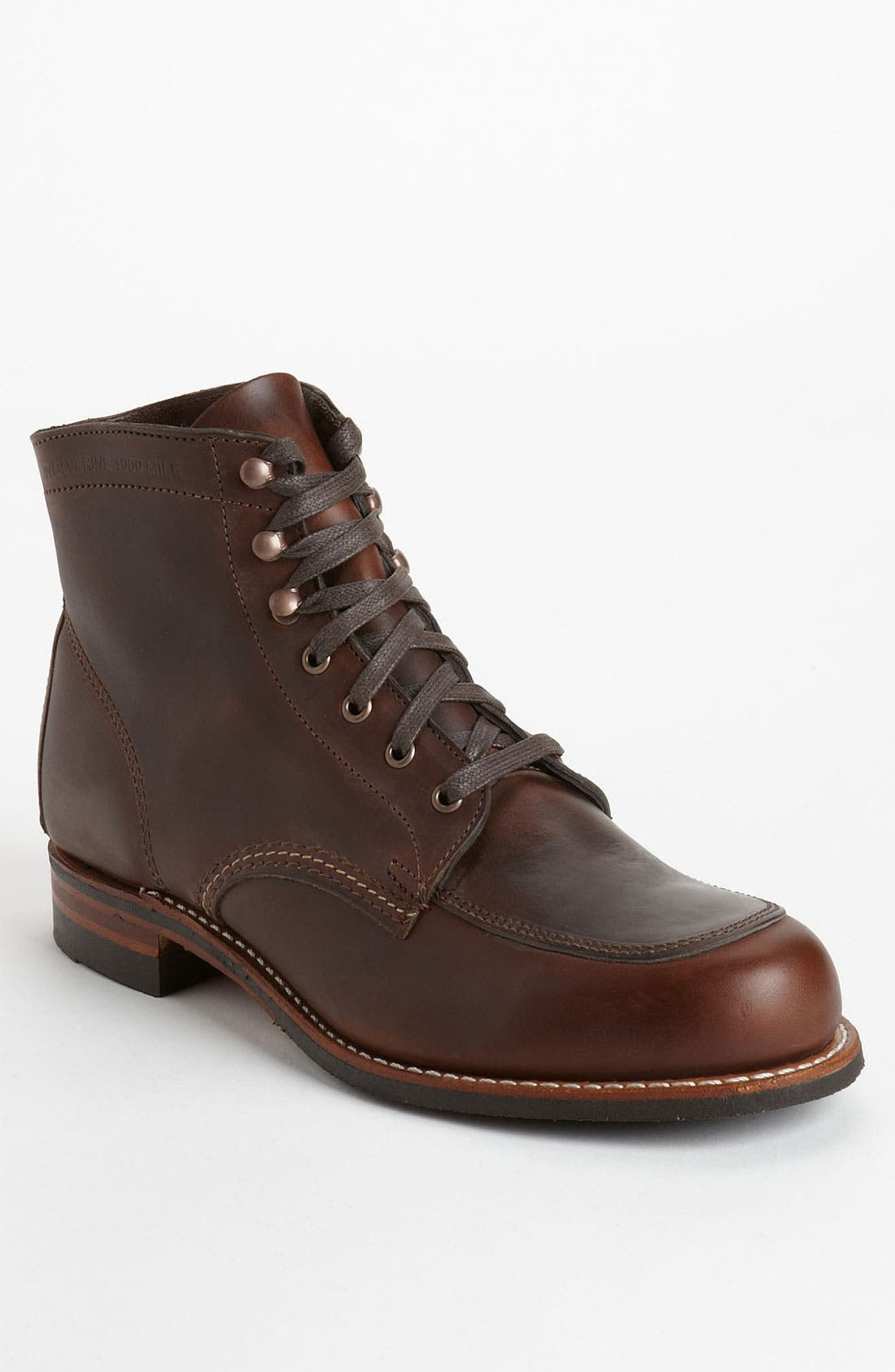 Alternate Image 1 Selected - Wolverine '1000 Mile - Courtland' Moc Toe Boot