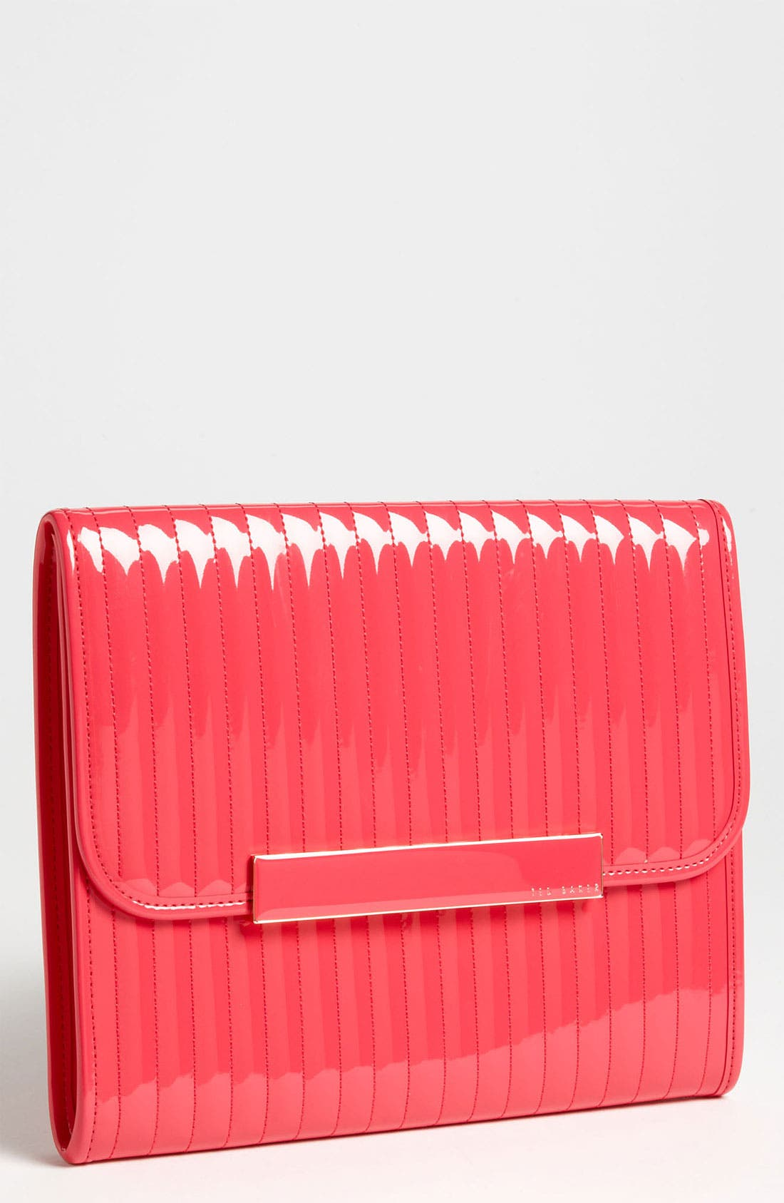 Alternate Image 1 Selected - Ted Baker London Quilted iPad Case