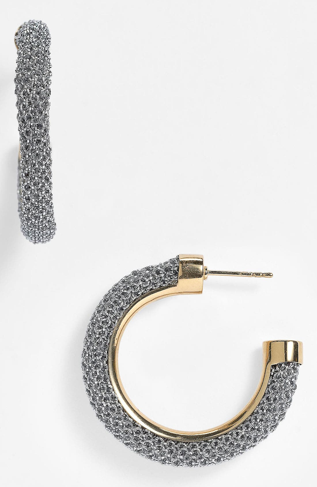 Alternate Image 1 Selected - Adami & Martucci 'Mesh' Small Hoop Earrings