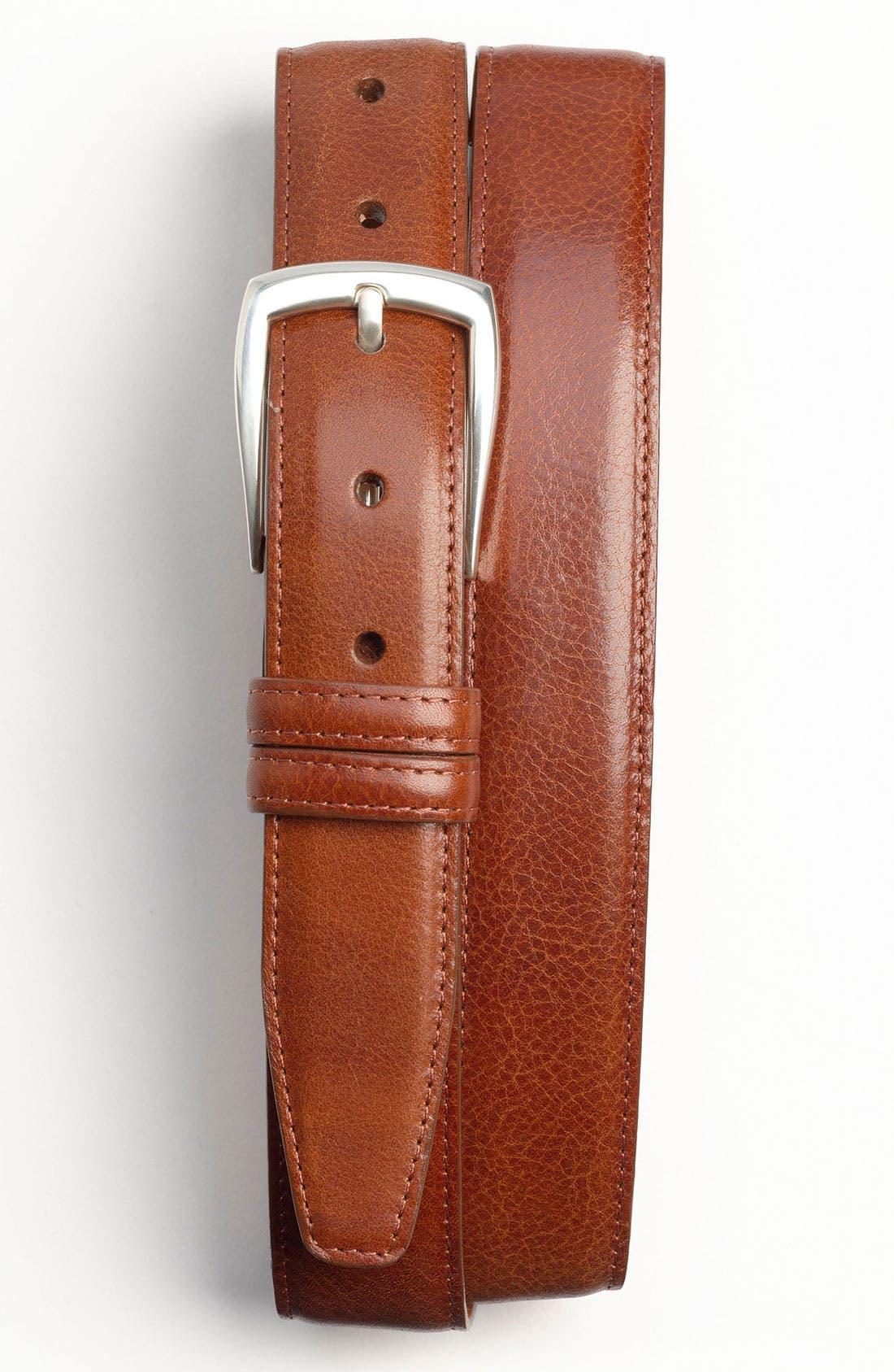 Alternate Image 1 Selected - Trafalgar 'Hamden' Calfskin Belt