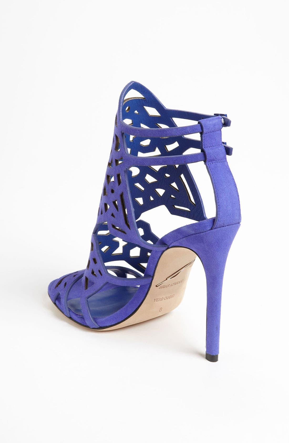'Laplata' High Sandal,                             Alternate thumbnail 2, color,                             Purple