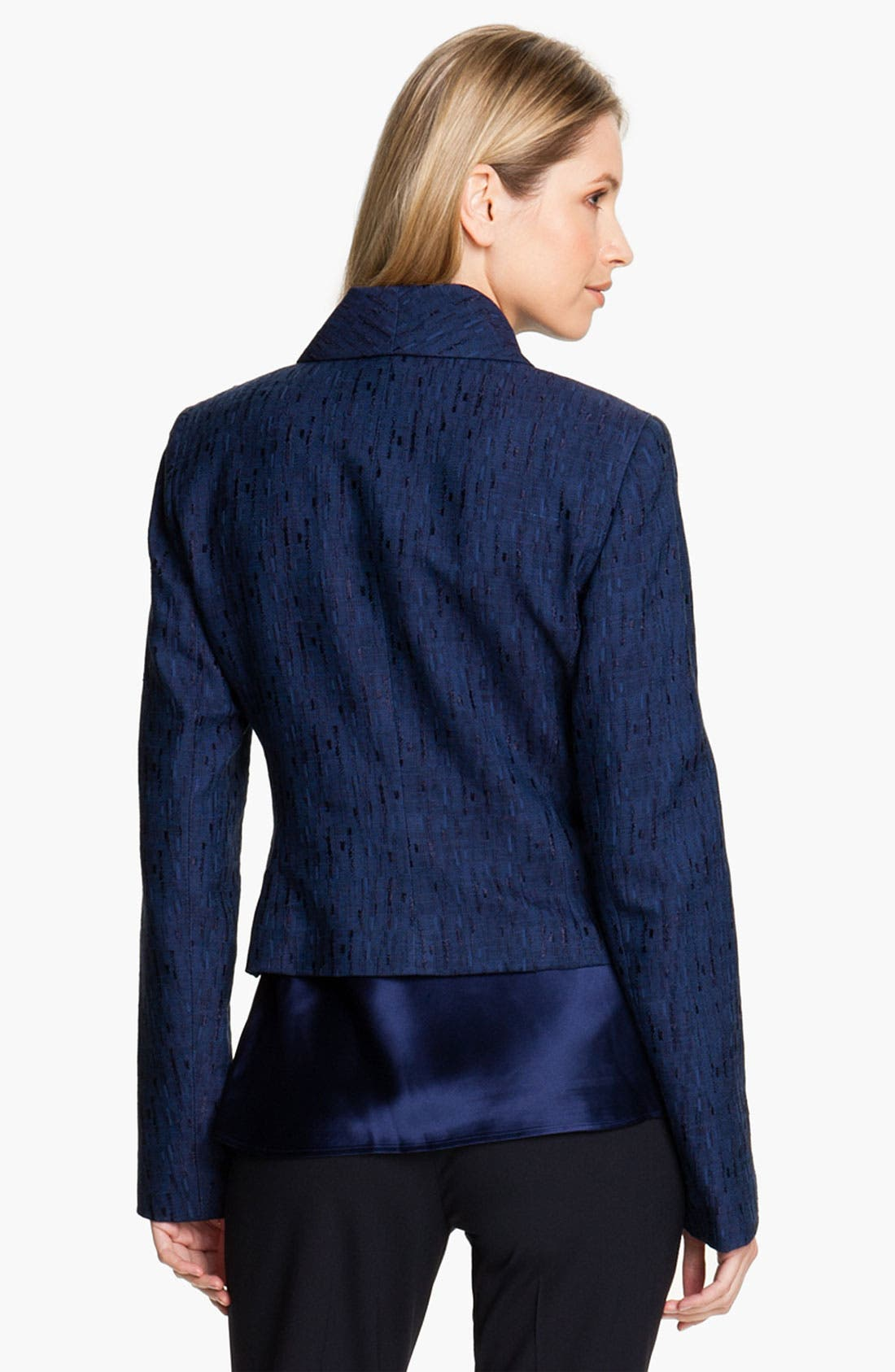 Alternate Image 2  - Lafayette 148 New York 'Sublime Texture' Jacket (Petite)