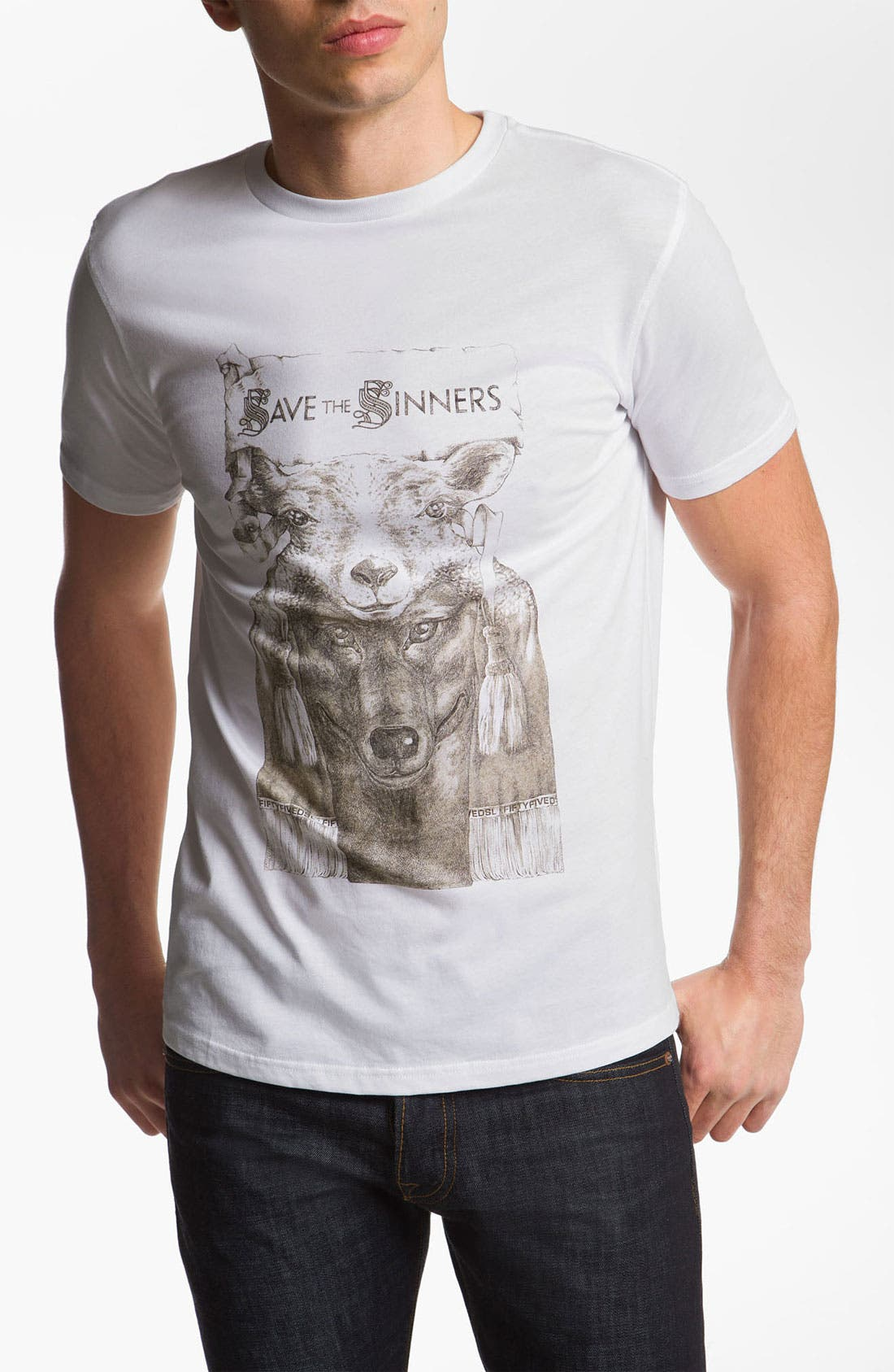 Alternate Image 1 Selected - 55DSL 'The Beast' Graphic T-Shirt