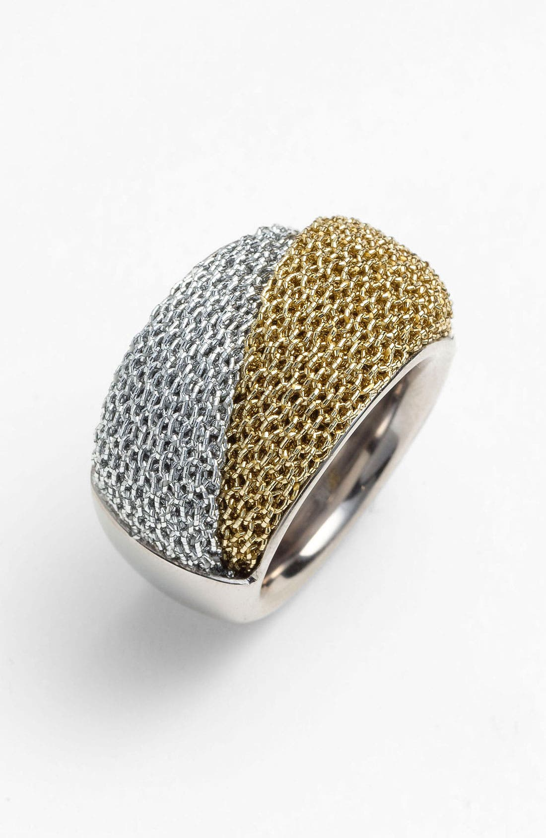 Alternate Image 1 Selected - Adami & Martucci 'Mesh' Two Tone Ring (Nordstrom Exclusive)