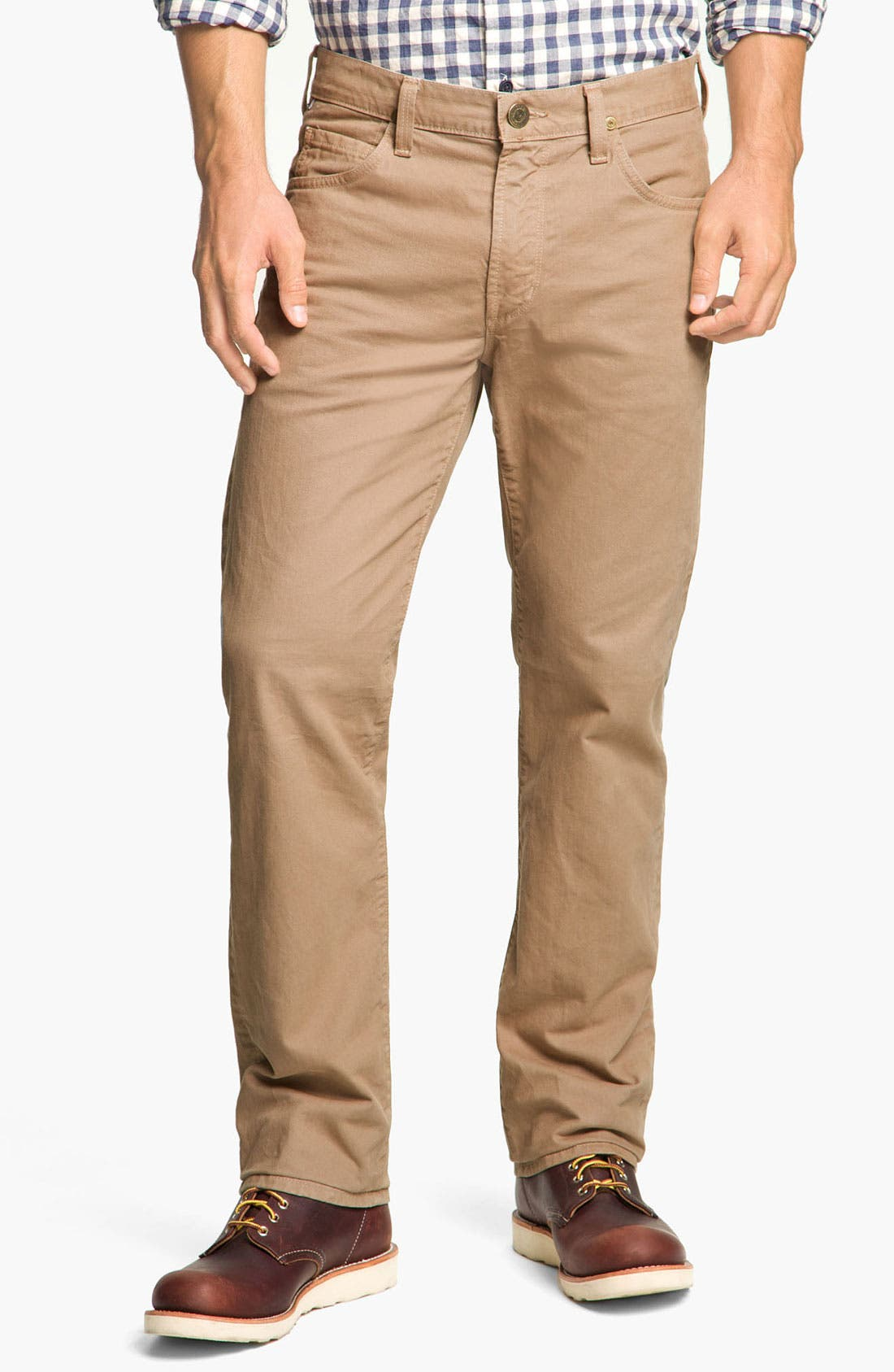Alternate Image 1 Selected - Citizens of Humanity 'Sid' Straight Leg Jeans (Umber)