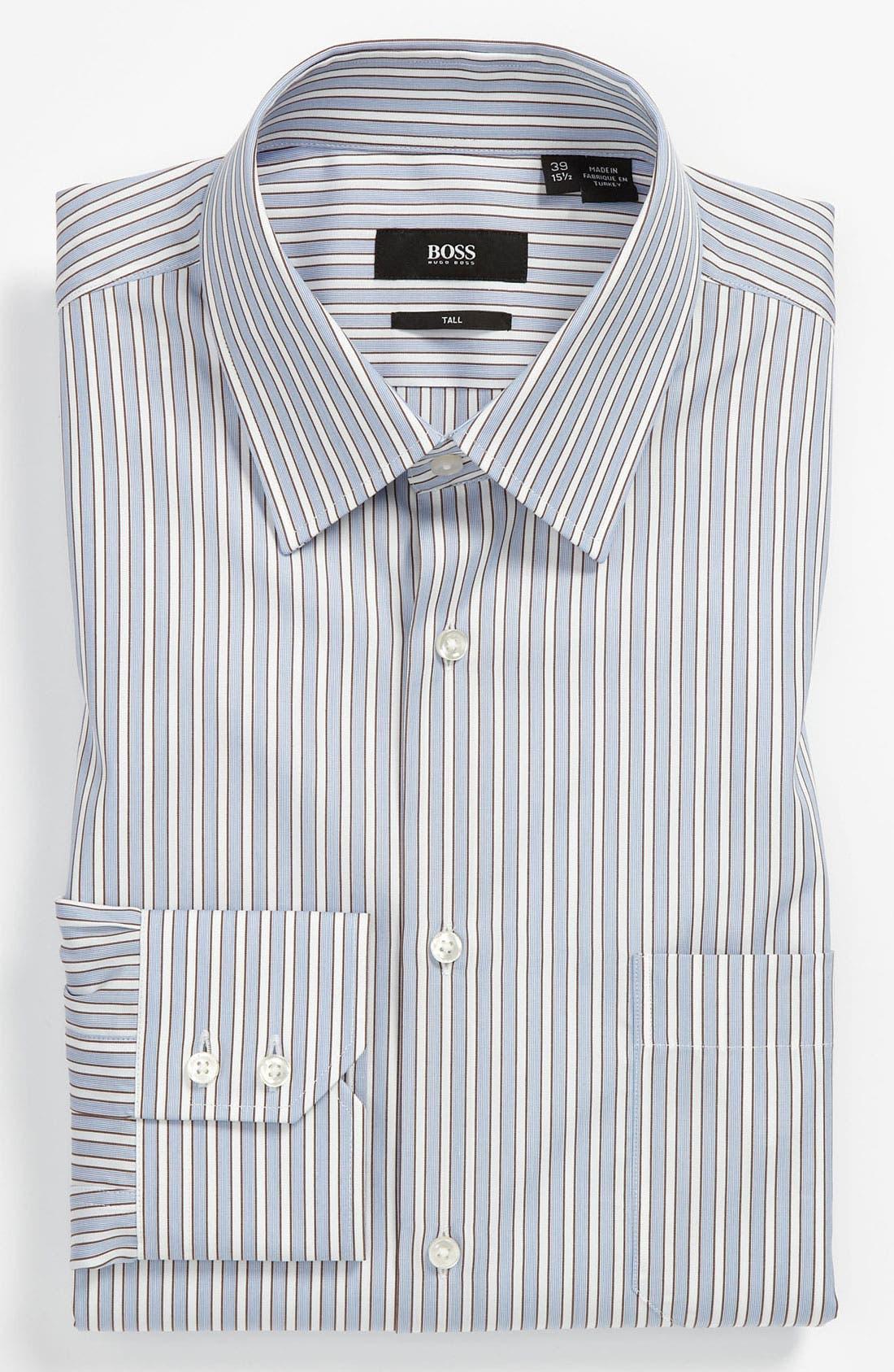 Alternate Image 1 Selected - BOSS Black Regular Fit Non-Iron Dress Shirt (Big & Tall) (Online Exclusive)