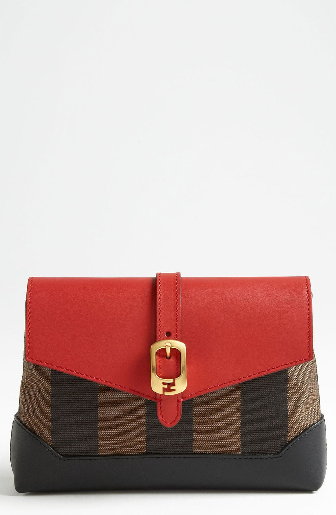Alternate Image 1 Selected - Fendi 'Pequin - Mini' Crossbody Bag