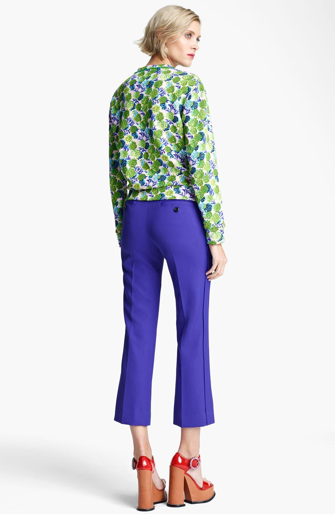 Alternate Image 3  - MARC JACOBS Floral Print Sweatshirt