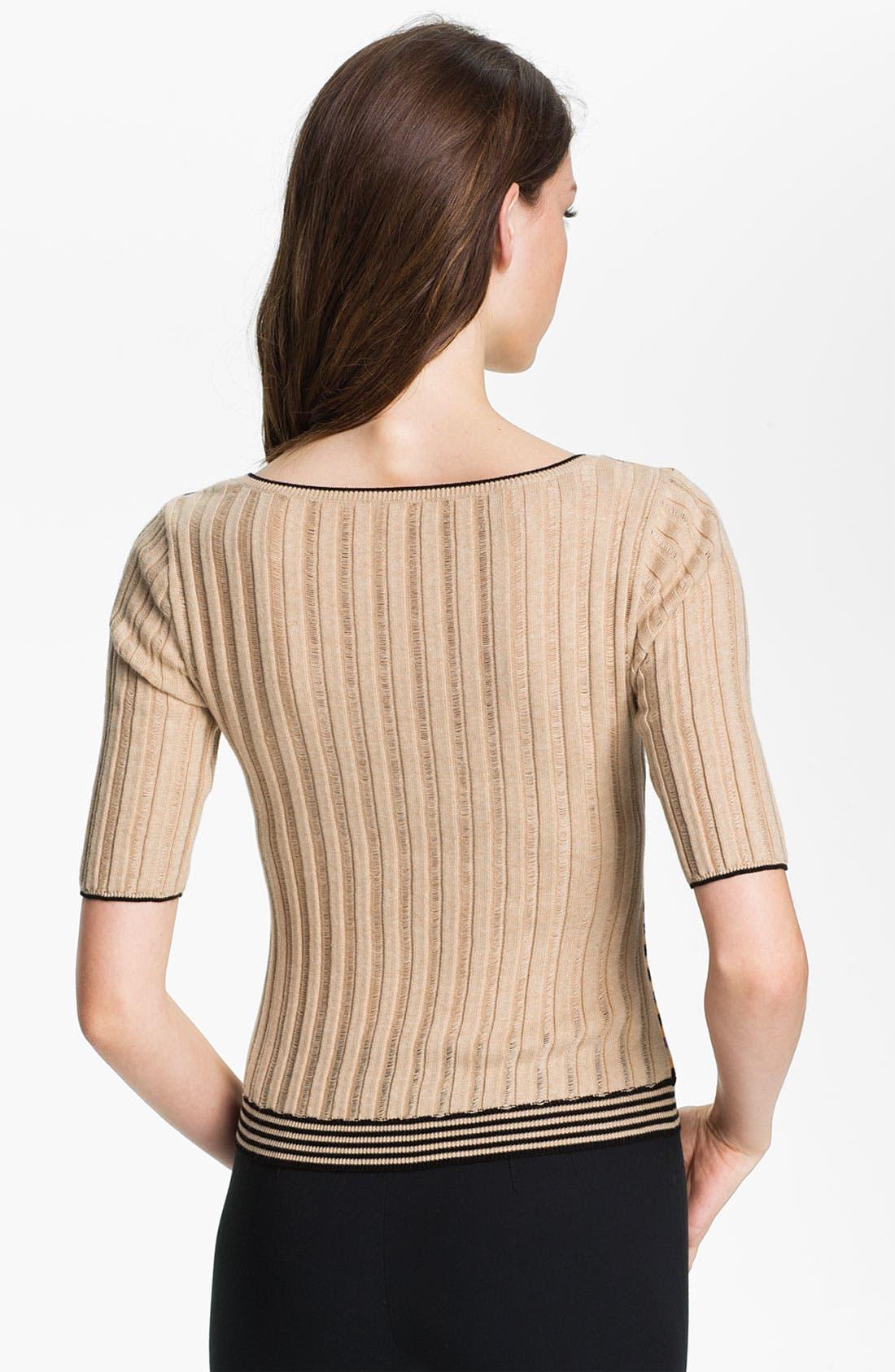 Alternate Image 2  - Nanette Lepore 'Entranced' Crop Sweater