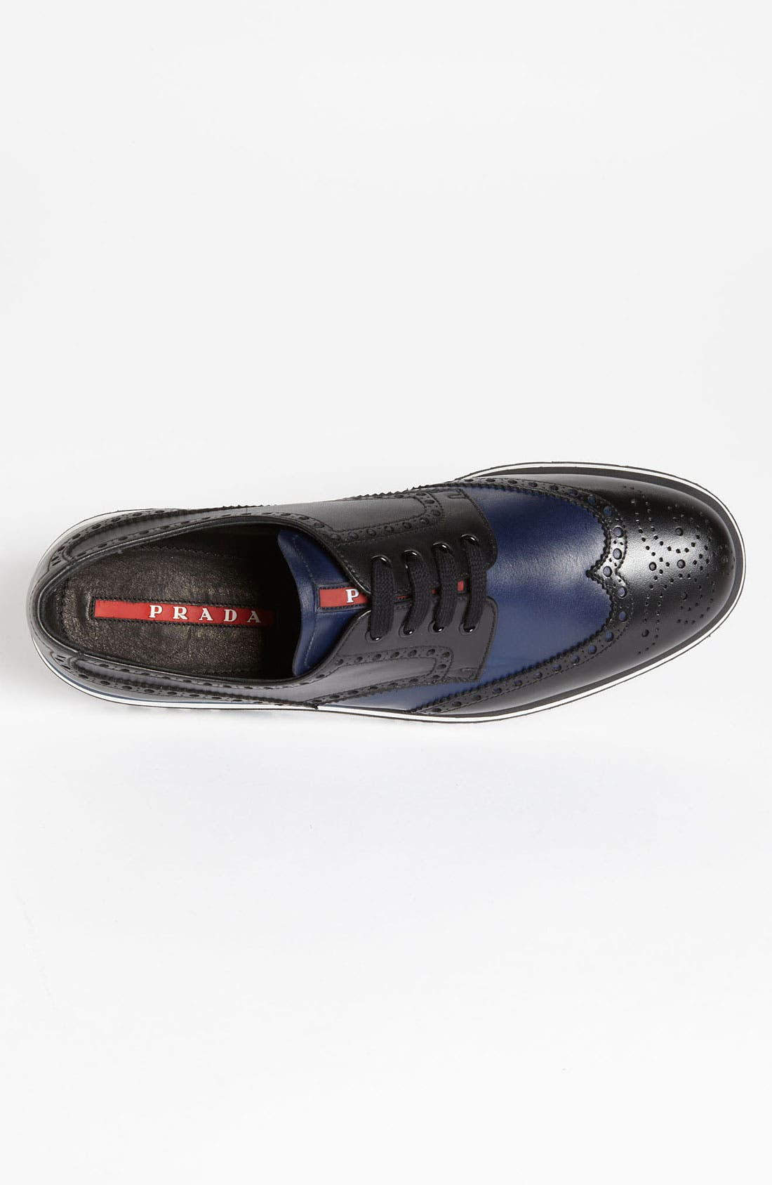 Alternate Image 3  - Prada Two Tone Wingtip Sneaker