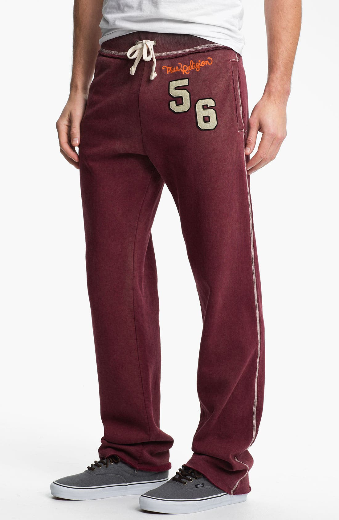 Alternate Image 1 Selected - True Religion Brand Jeans 'Rockwood Tiger' Athletic Pants (Online Exclusive)
