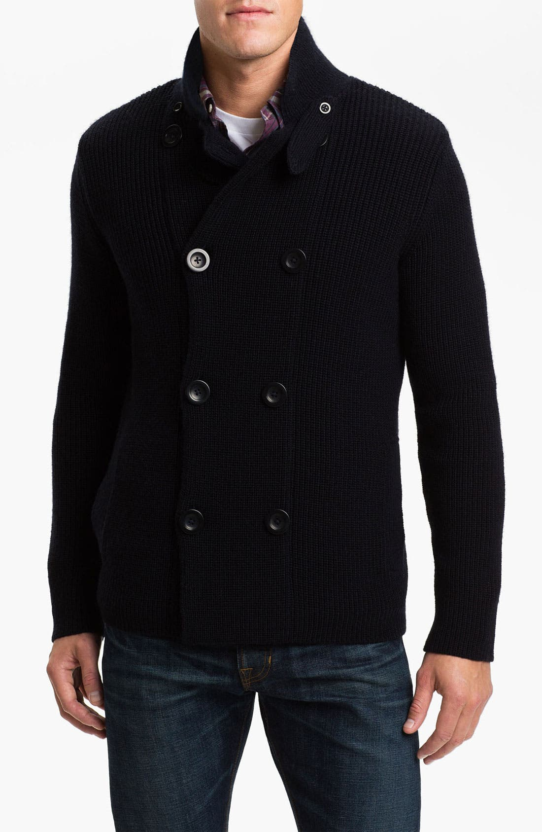 Main Image - Vince Double Breasted Wool Sweater