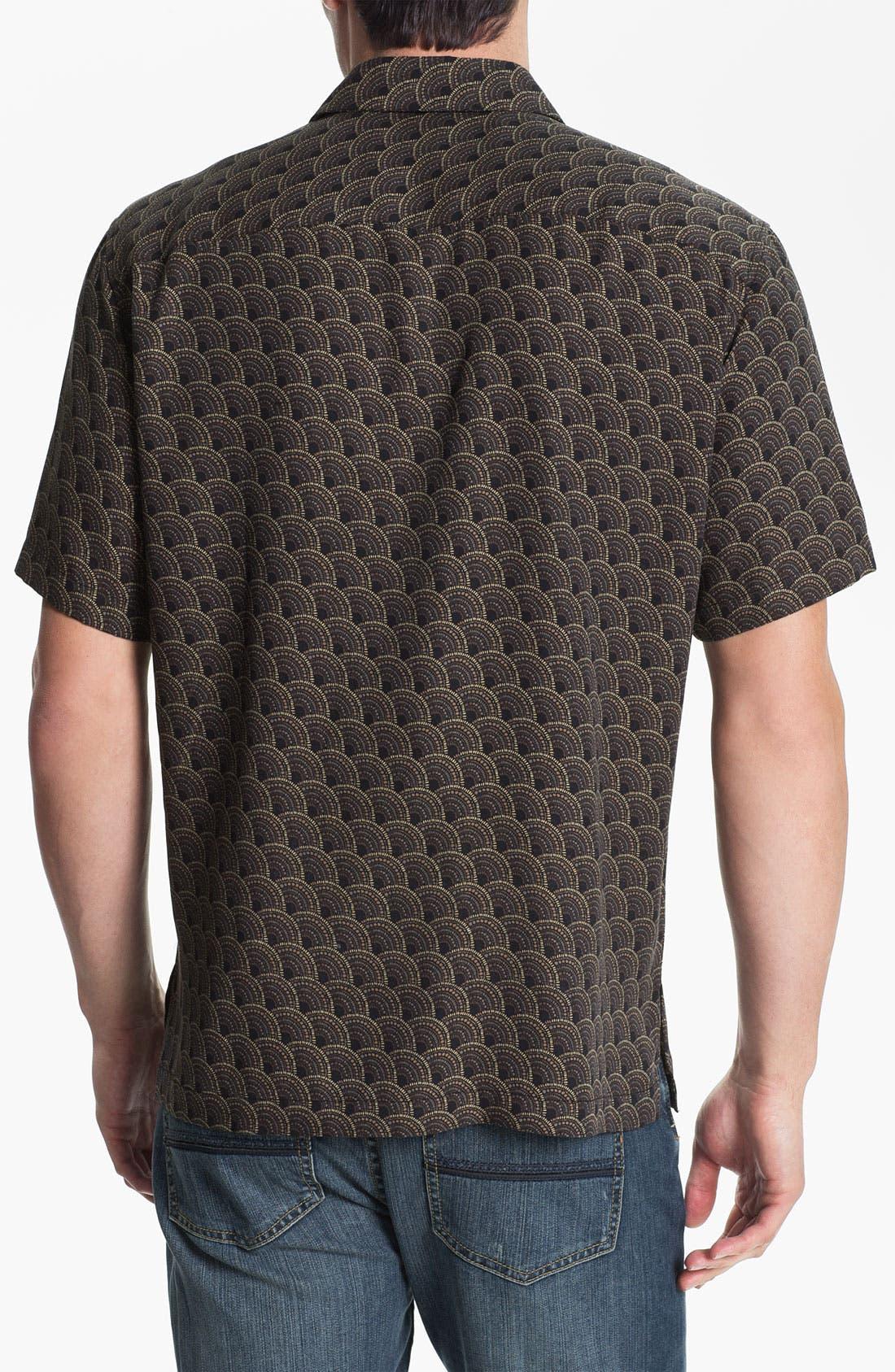 Alternate Image 2  - Tori Richard 'Ditto' Silk Blend Campshirt