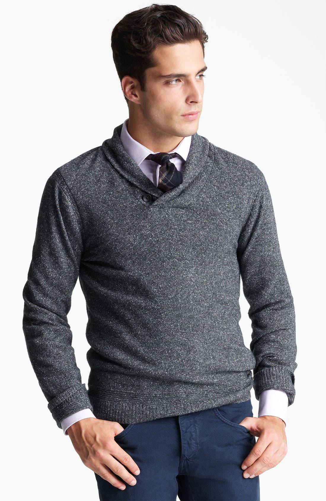 Main Image - rag & bone 'Hornberg' Shawl Collar Sweater