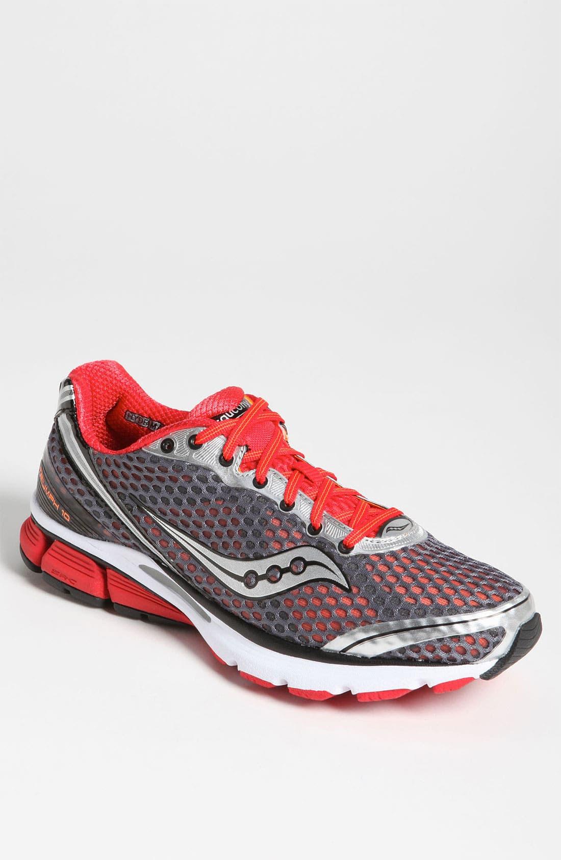 Main Image - Saucony 'PowerGrid Triumph 10' Running Shoe (Men)