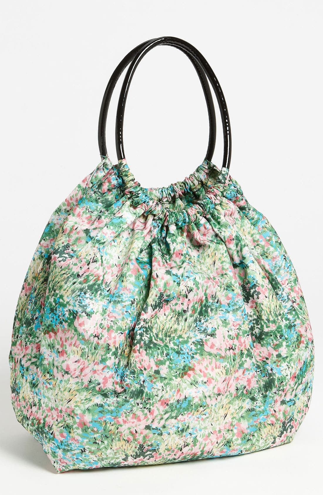 Alternate Image 1 Selected - RED Valentino 'Meadow' Print Balloon Bag
