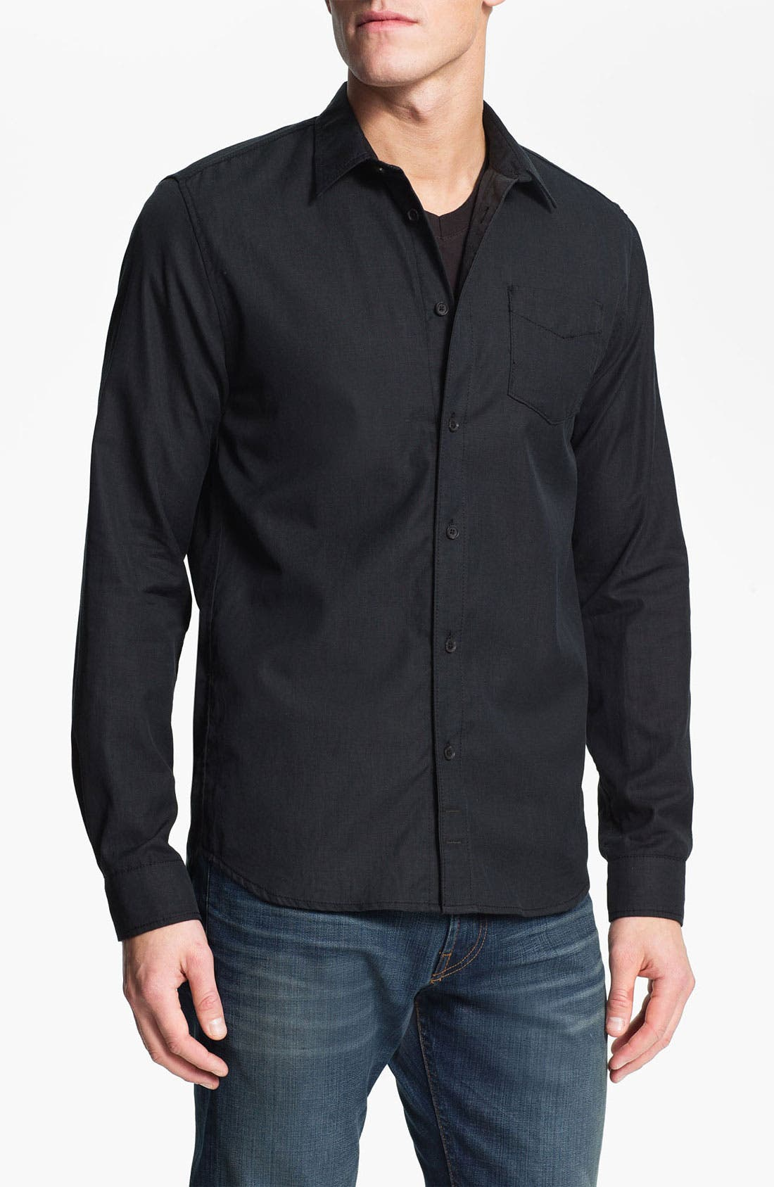 Alternate Image 1 Selected - 7 For All Mankind® Cotton Woven Shirt