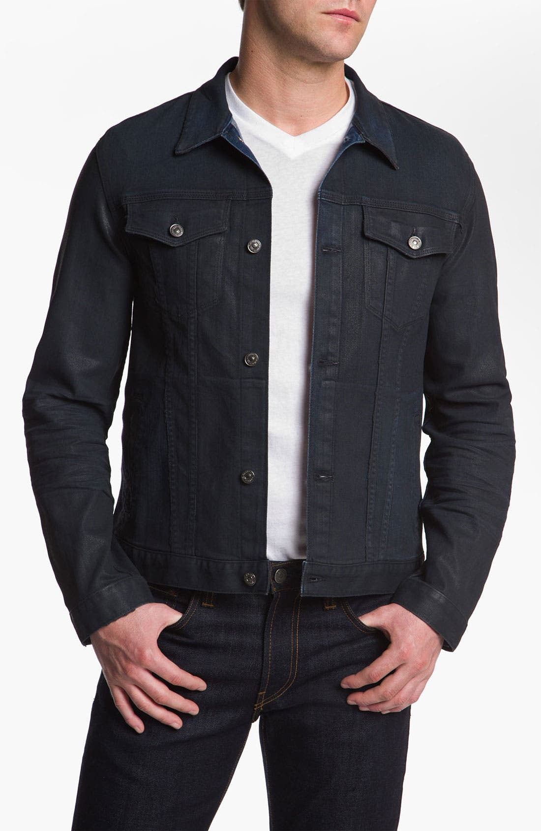 Alternate Image 1 Selected - 7 For All Mankind® Denim Jacket