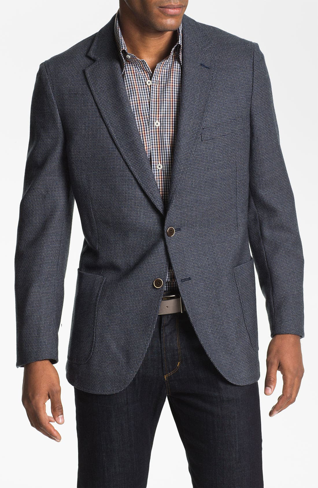 Alternate Image 1 Selected - Peter Millar Wool Sportcoat