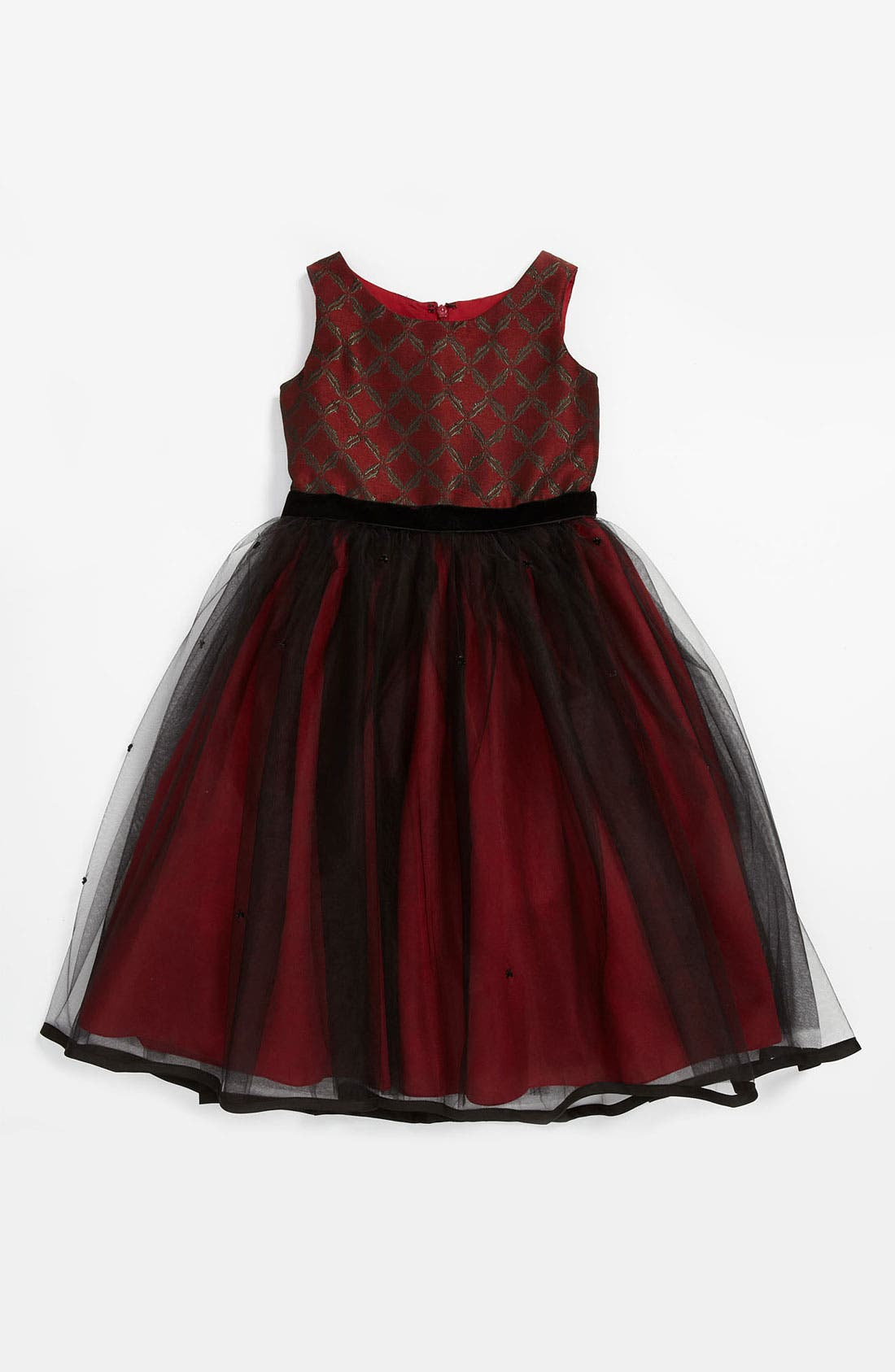 Alternate Image 1 Selected - Us Angels Tulle Dress (Little Girls & Big Girls)