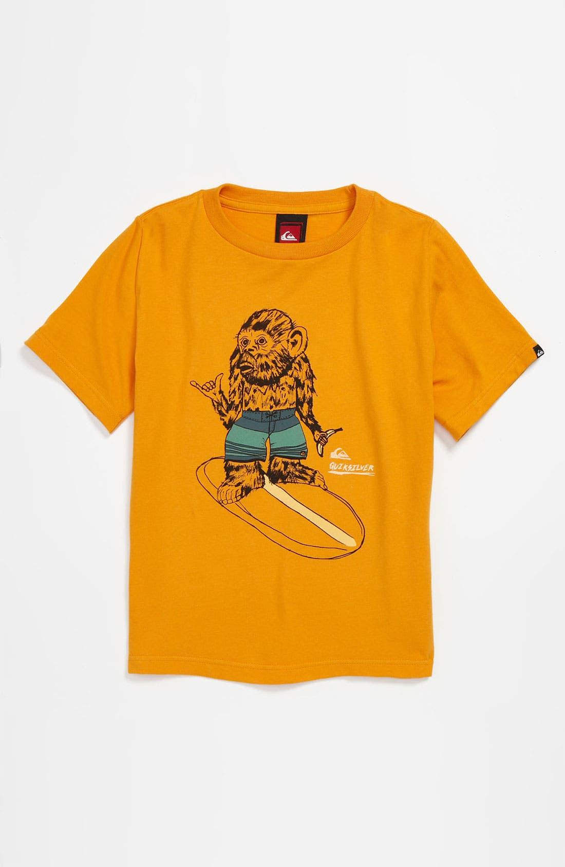 Alternate Image 1 Selected - Quiksilver 'Simple Things' Ring Spun Jersey T-Shirt (Big Boys)