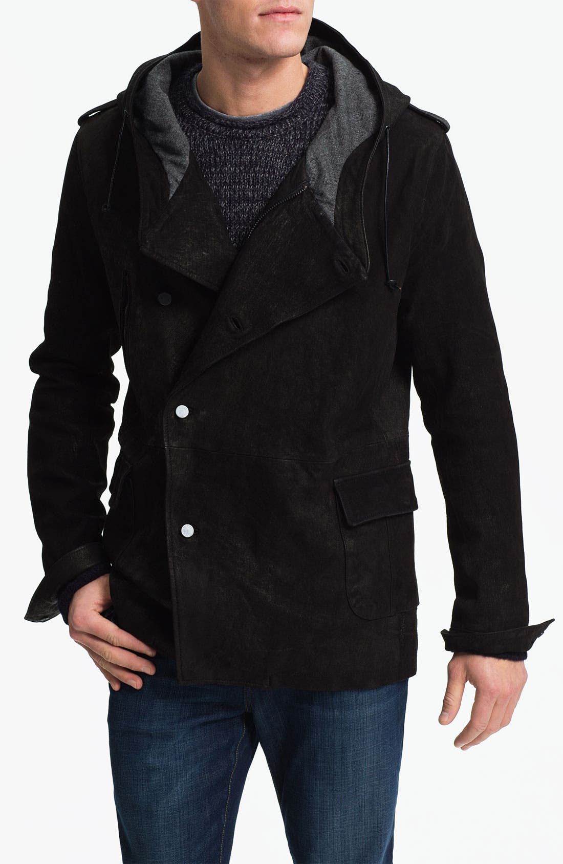 Main Image - Joe's 'Sebastian' Leather Jacket