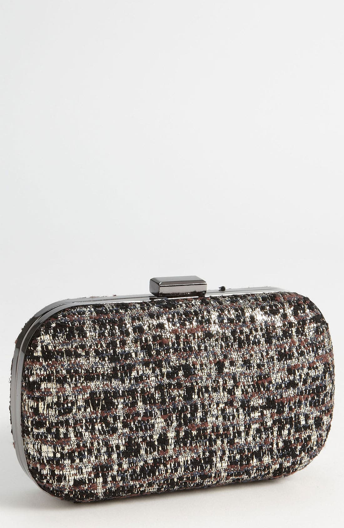 Alternate Image 1 Selected - Natasha Couture Tweed Clutch