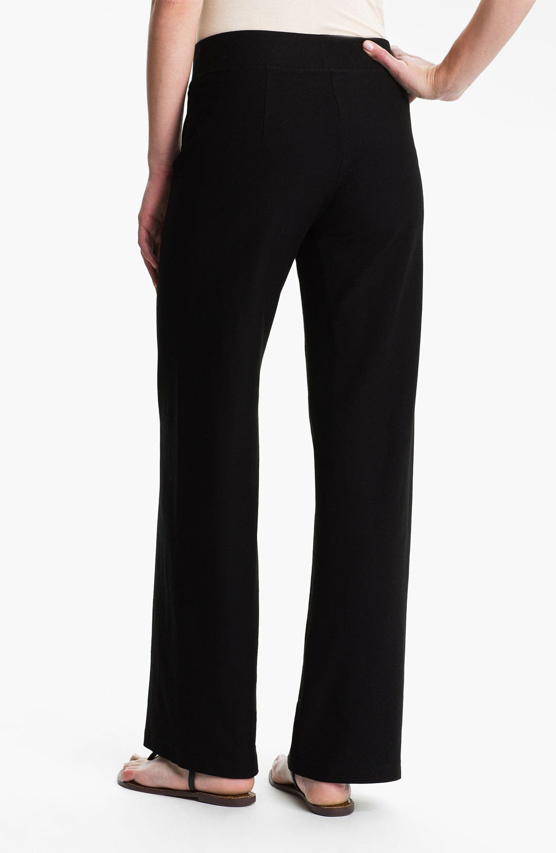Alternate Image 2  - Eileen Fisher Wide Leg Knit Pants