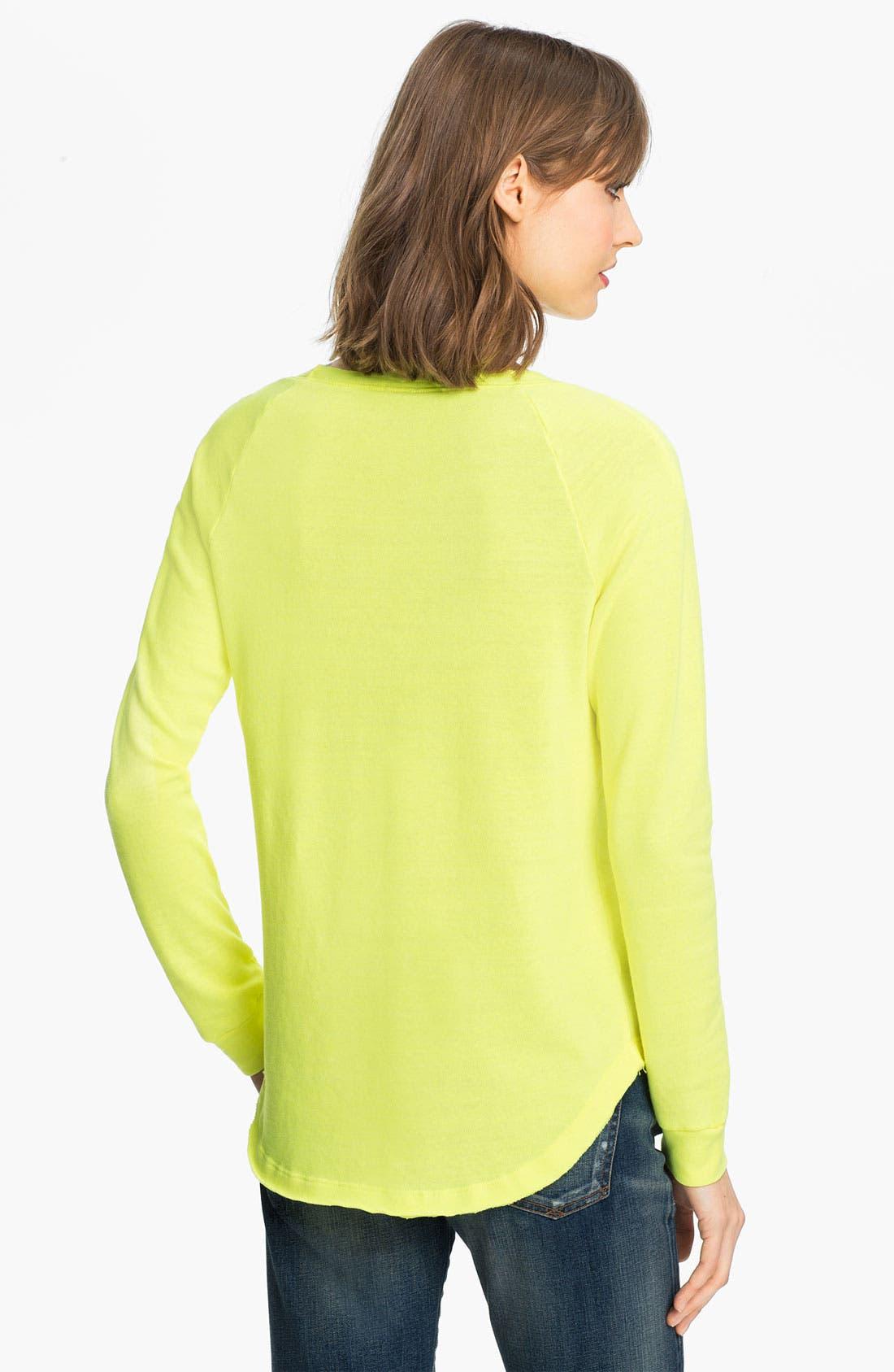 Alternate Image 2  - Splendid Neon Sweatshirt