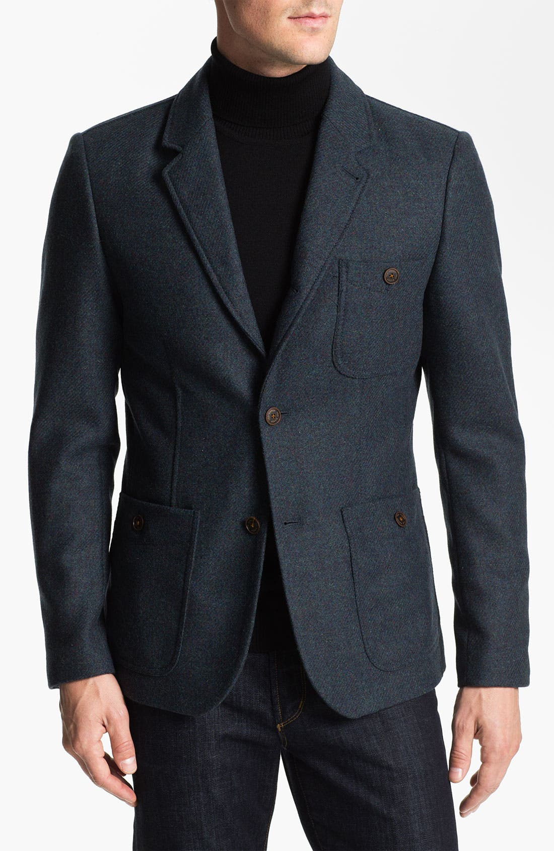 Alternate Image 1 Selected - Ted Baker London 'Moosh' Wool Blazer