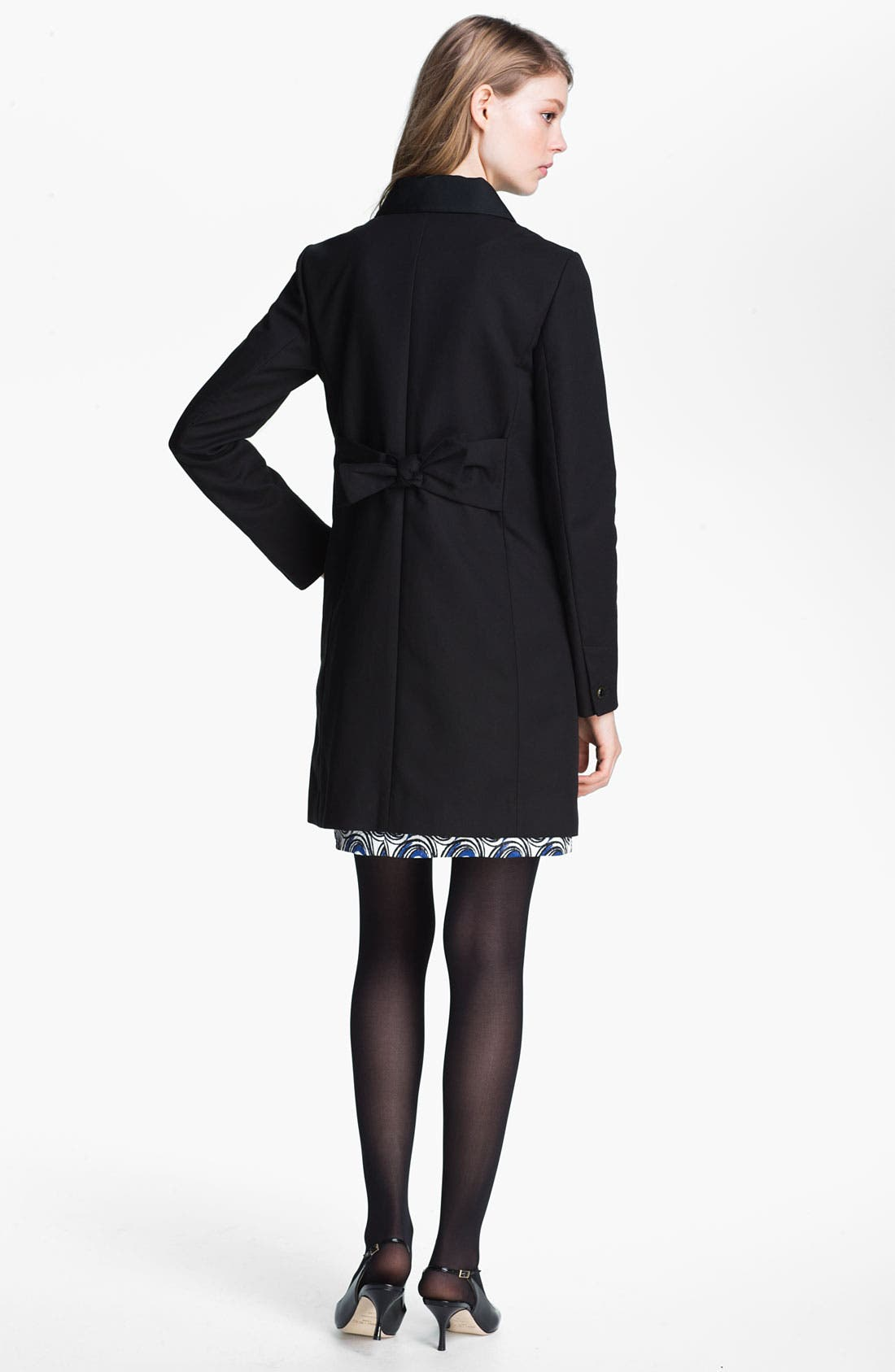 Alternate Image 4  - Miss Wu Bow Back Cotton Topper (Nordstrom Exclusive)
