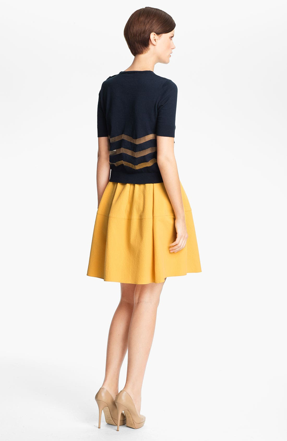 Alternate Image 2  - Carven Stripe Knit Sweater