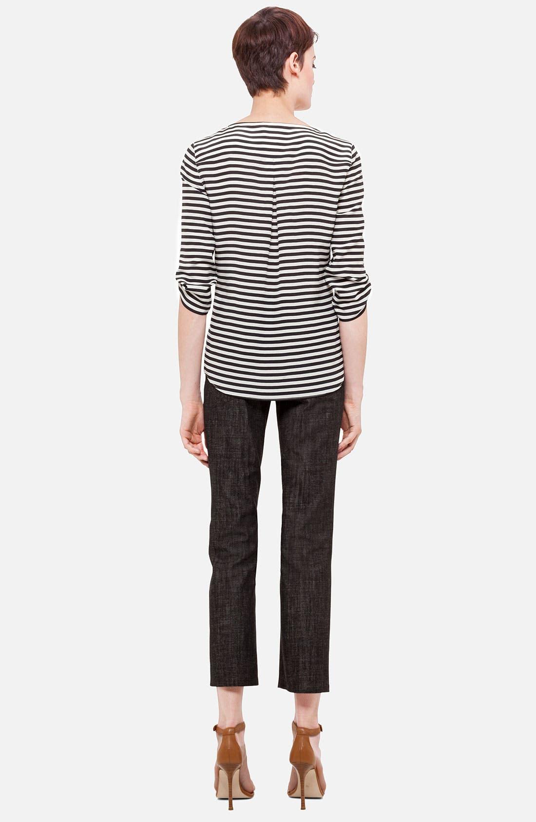 Alternate Image 3  - Akris punto 'Fayette' Bootcut Stretch Cotton Jeans